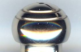 nanocomposite coated spherical plunger head