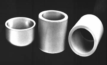 coated crucibles and oven fittings